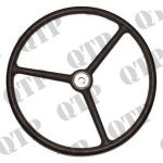 Black Steering Wheel (Keyway Fitment)